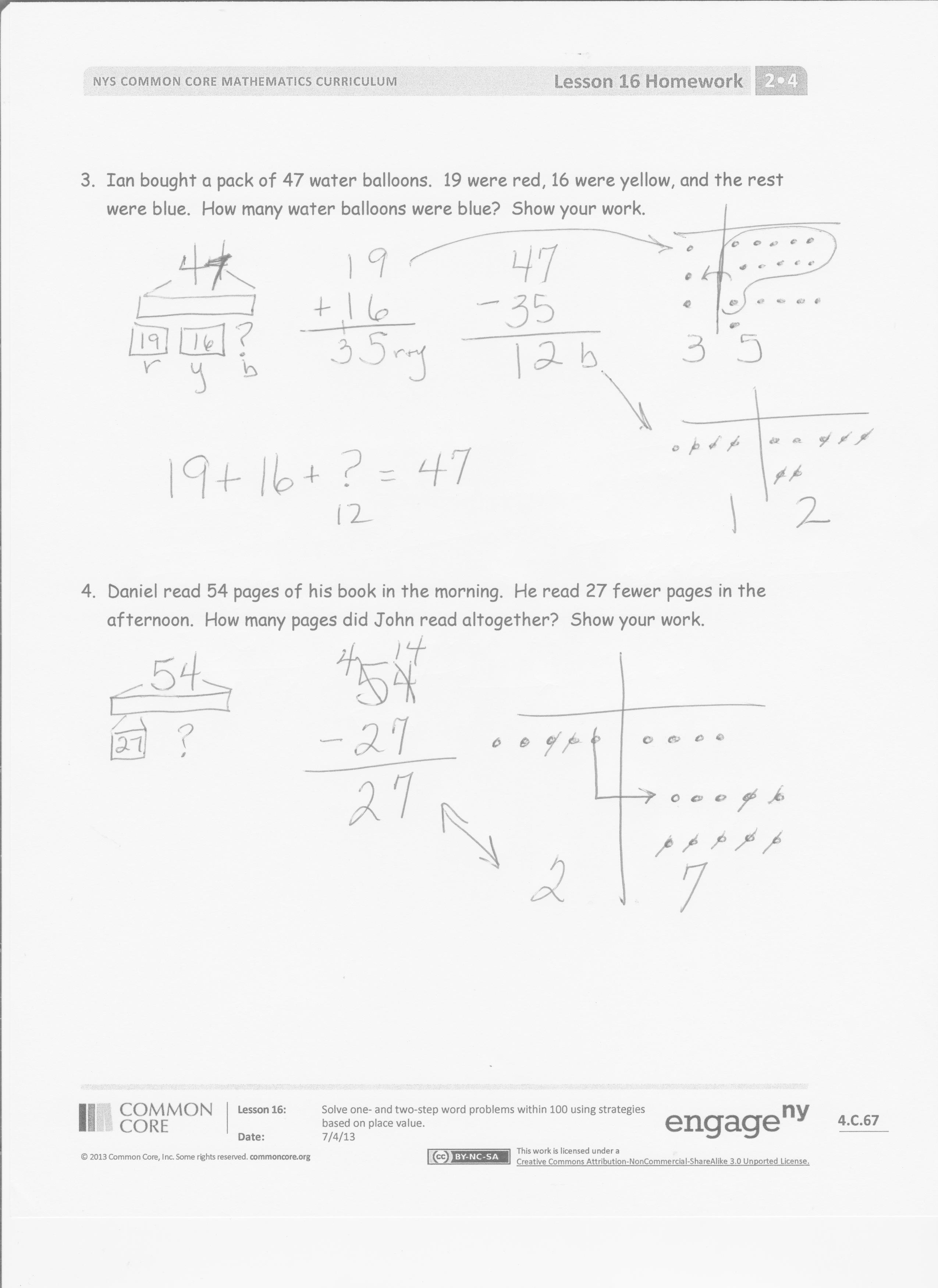 Eureka Math Grade 5 Module 4 Lesson 16 Answer Key